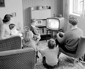 Black-and-White-TV