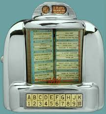 jukeboxes were the rage baby boomer reflections. Black Bedroom Furniture Sets. Home Design Ideas