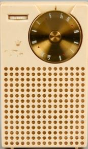 H5580-1 Regency Transistor Radio (Front)