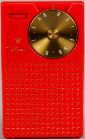 H5580-2 Regency Transistor Radio (Front)